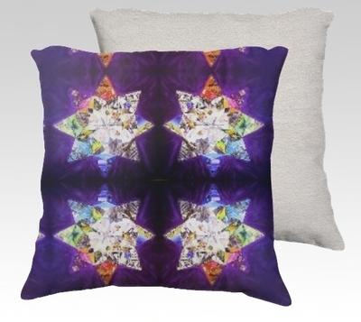 Journey of LIfe Velvet Pillow (small)