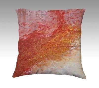 Fire & Ice Velvet Pillow (small)