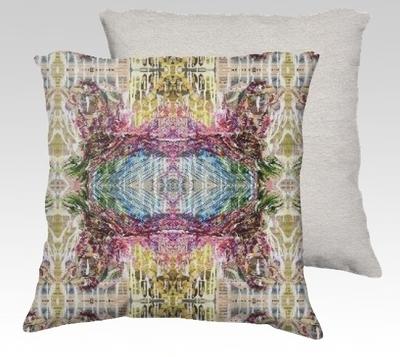 Moving Ahead Velvet Pillow (large)