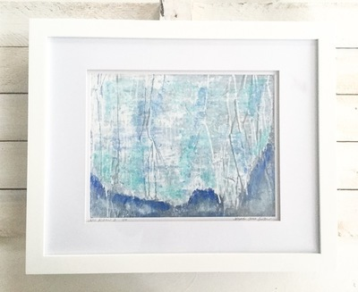 Ara Kikun #3 (white frame)