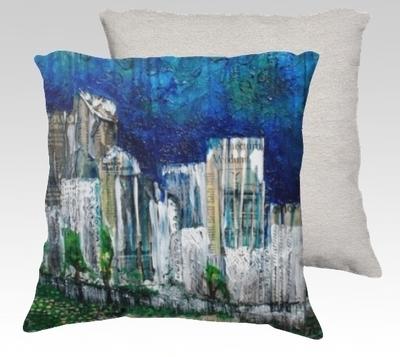 City Views 2 Velvet Pillow (small)