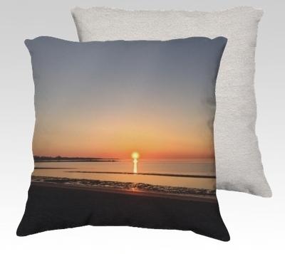 Sunday Morning Velvet Pillow (small)