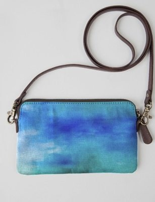 Moving Waters Statement Clutch