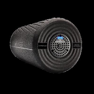 Vyper 2.0 Vibration Foam Roller Black Pain Relief Massage Tool