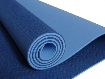 TPE Yoga Mat Blue or Red