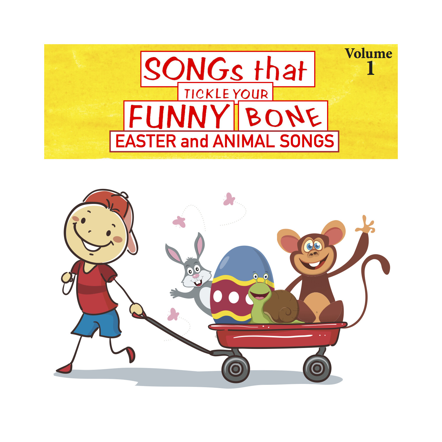 Songs That Tickle Your Funny Bone, Vol. 1 - CD