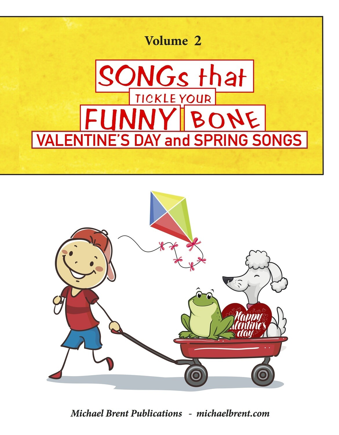 Songs that Tickle Your Funny Bone, Vol. 2 - Songbook