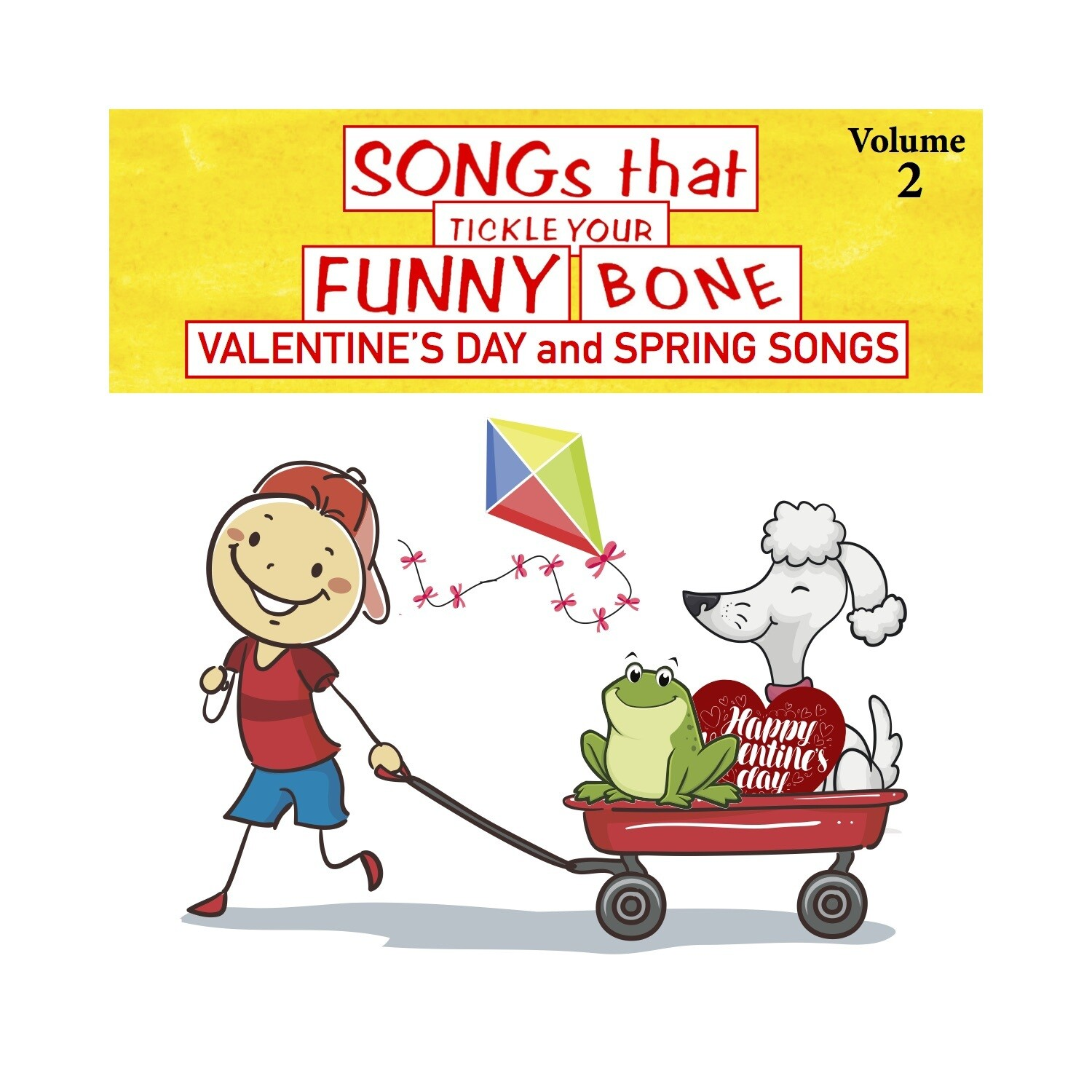 Songs that Tickle Your Funny Bone, Vol. 2 - CD