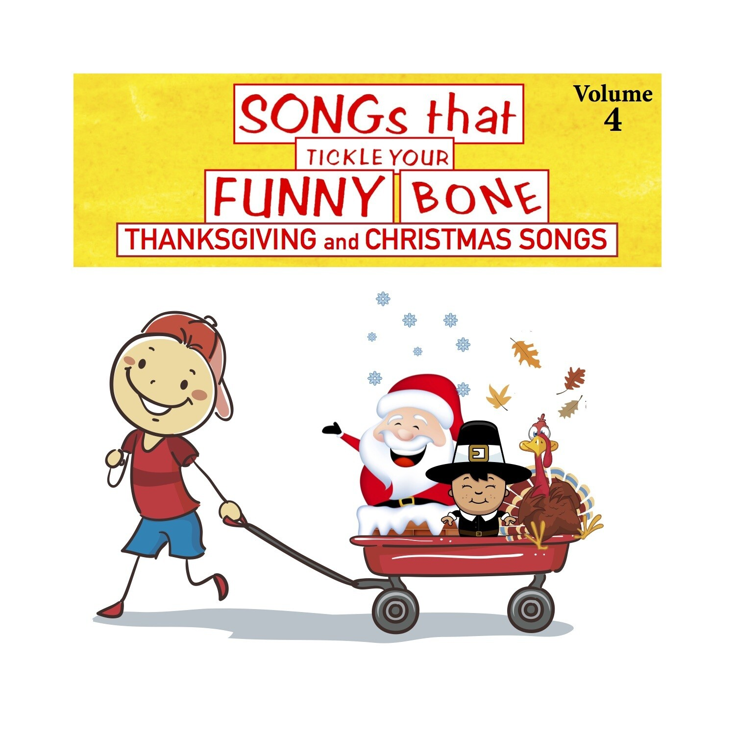 Songs that Tickle Your Funny Bone, Vol. 4 - CD