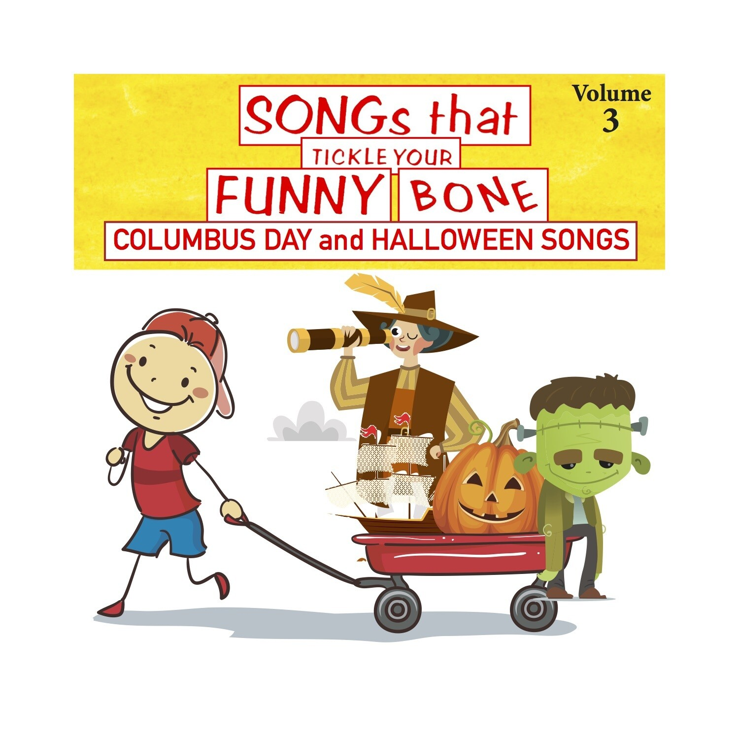 Songs that Tickle Your Funny Bone, Vol. 3 - CD