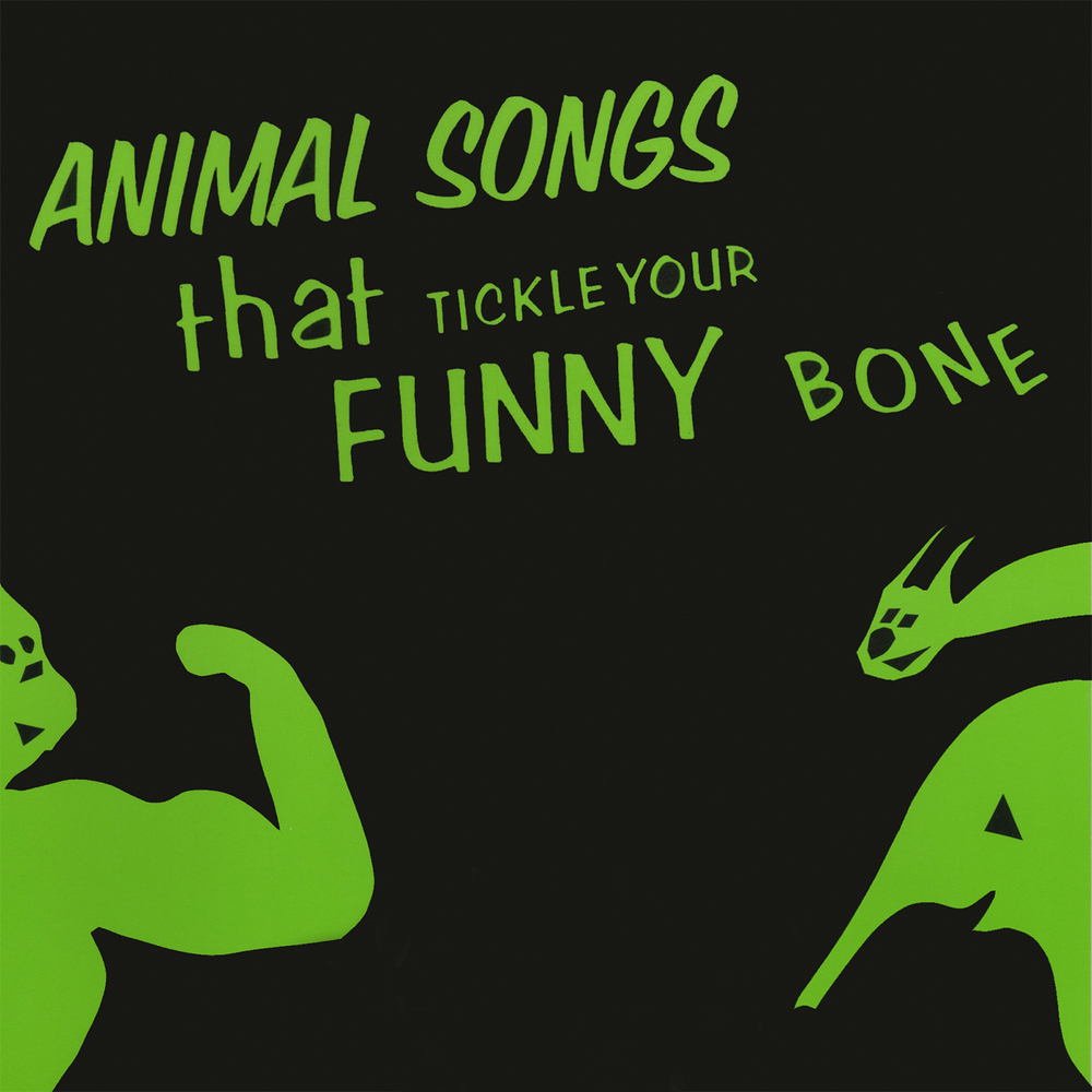Animal Songs That Tickle Your Funny Bone - Book/CD