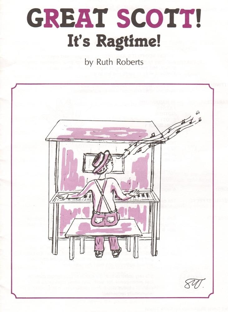 Great Scott!  It's Ragtime! - Book/CD