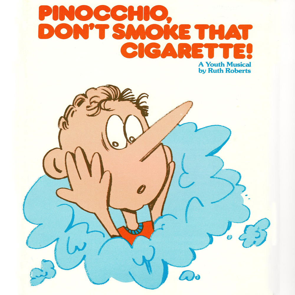 Pinocchio, Don't Smoke That Cigarette! - Performance/Acc. CD
