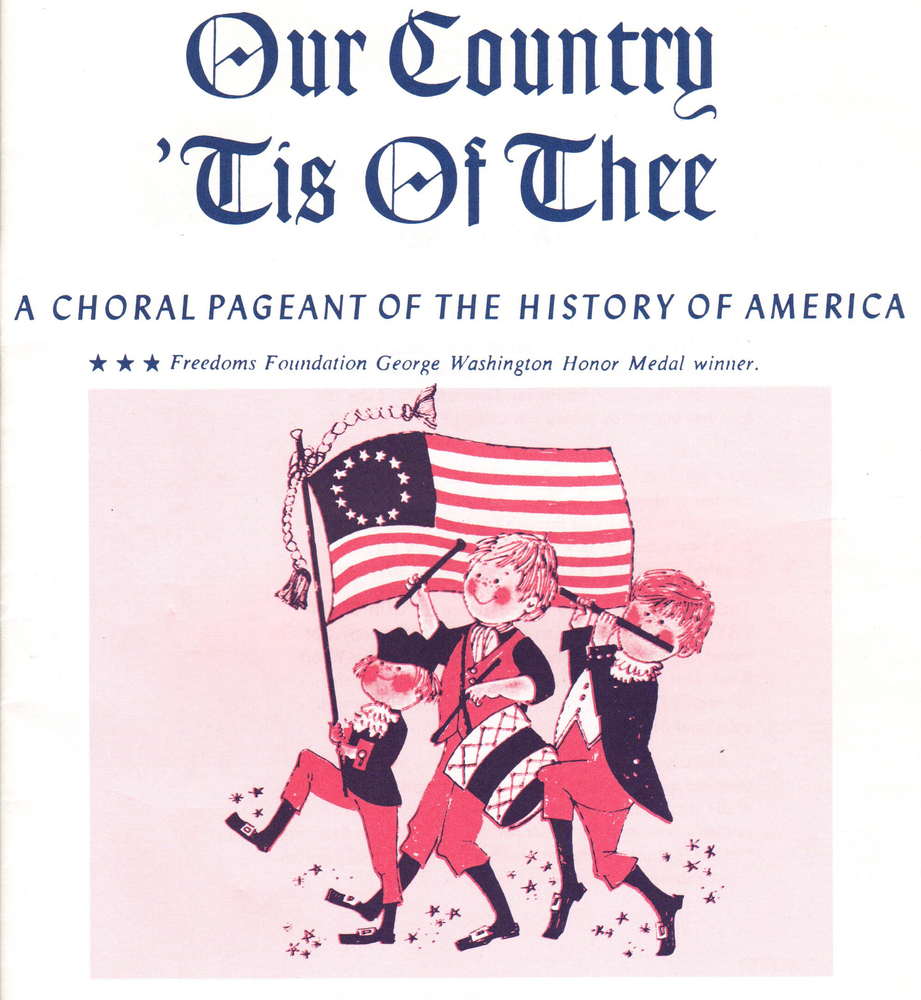 Our Country 'Tis of Thee - Student Book/10 PK