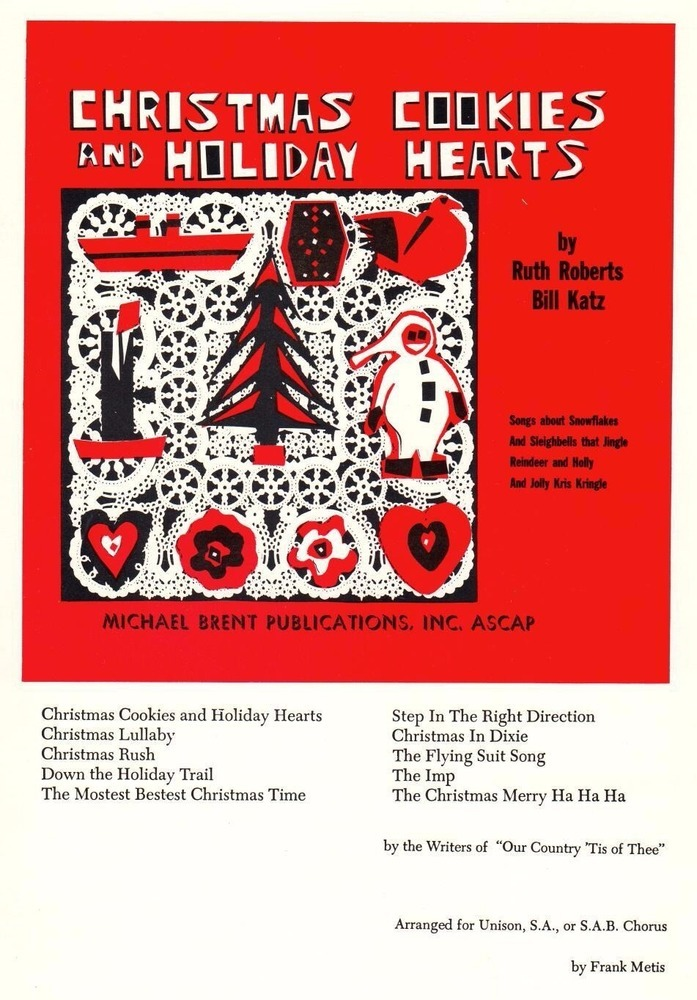 Christmas Cookies and Holiday Hearts - Performance/Accomp. CD