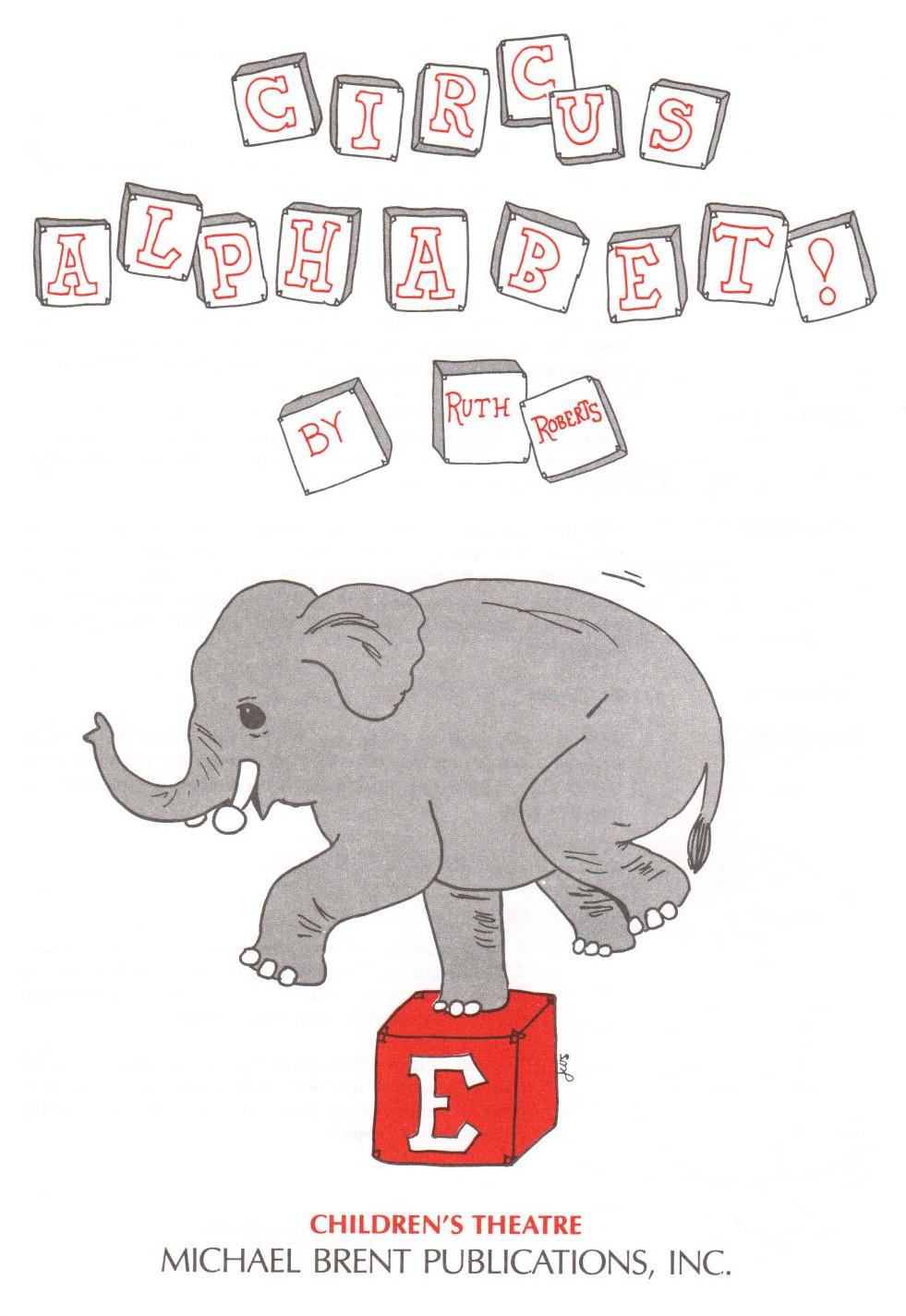 Circus Alphabet - Student 5/pk
