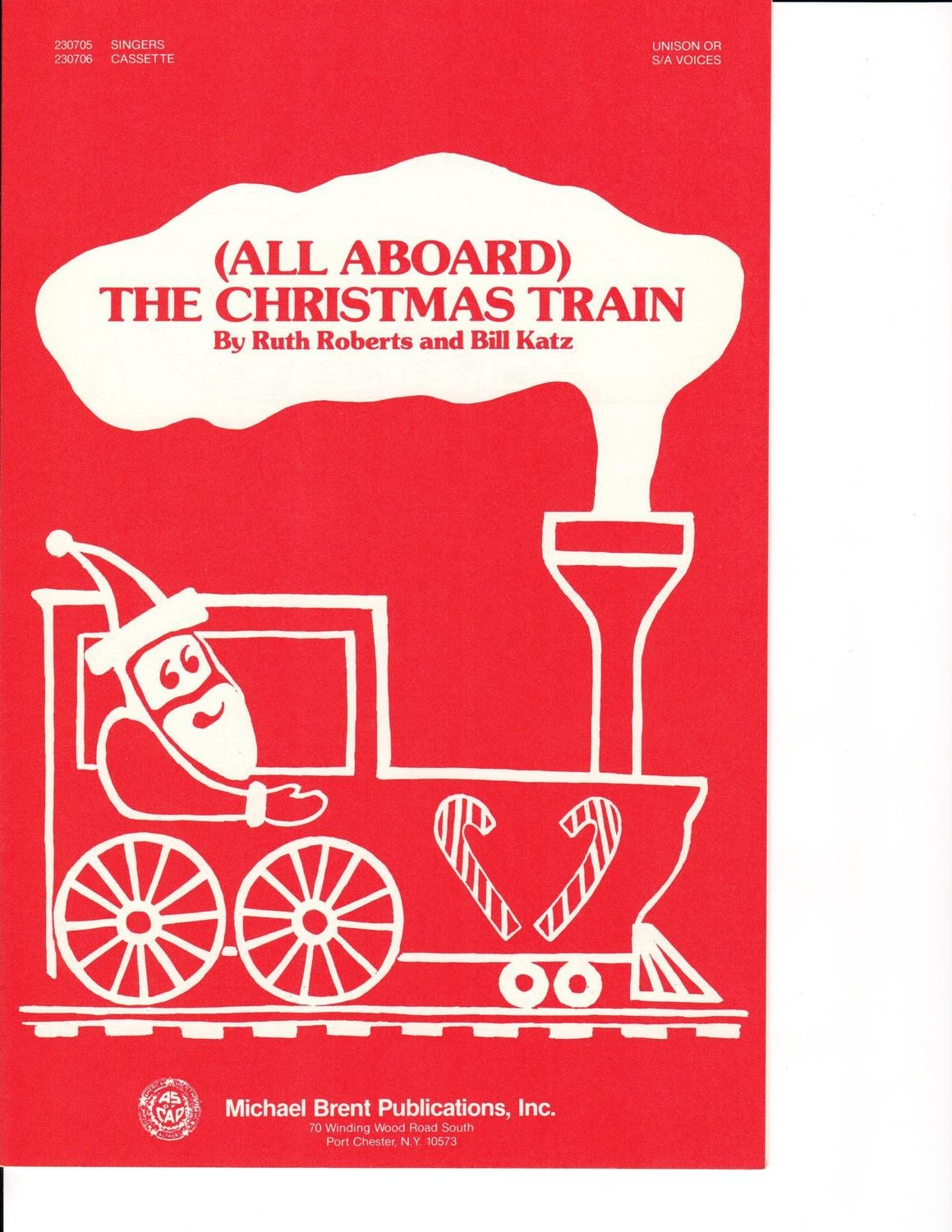 All Aboard The Christmas Train - Choral Book/CD