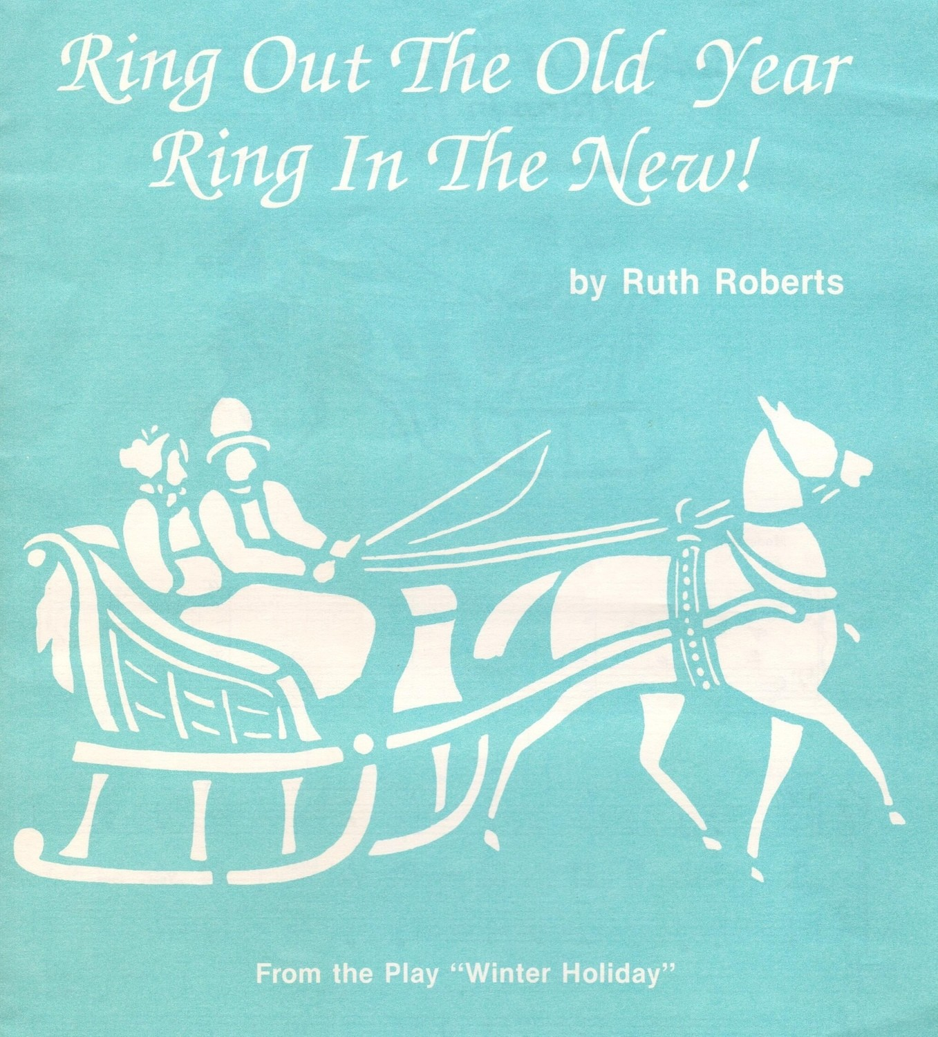Ring out the Old Year, Ring in the New - Choral/CD Kit