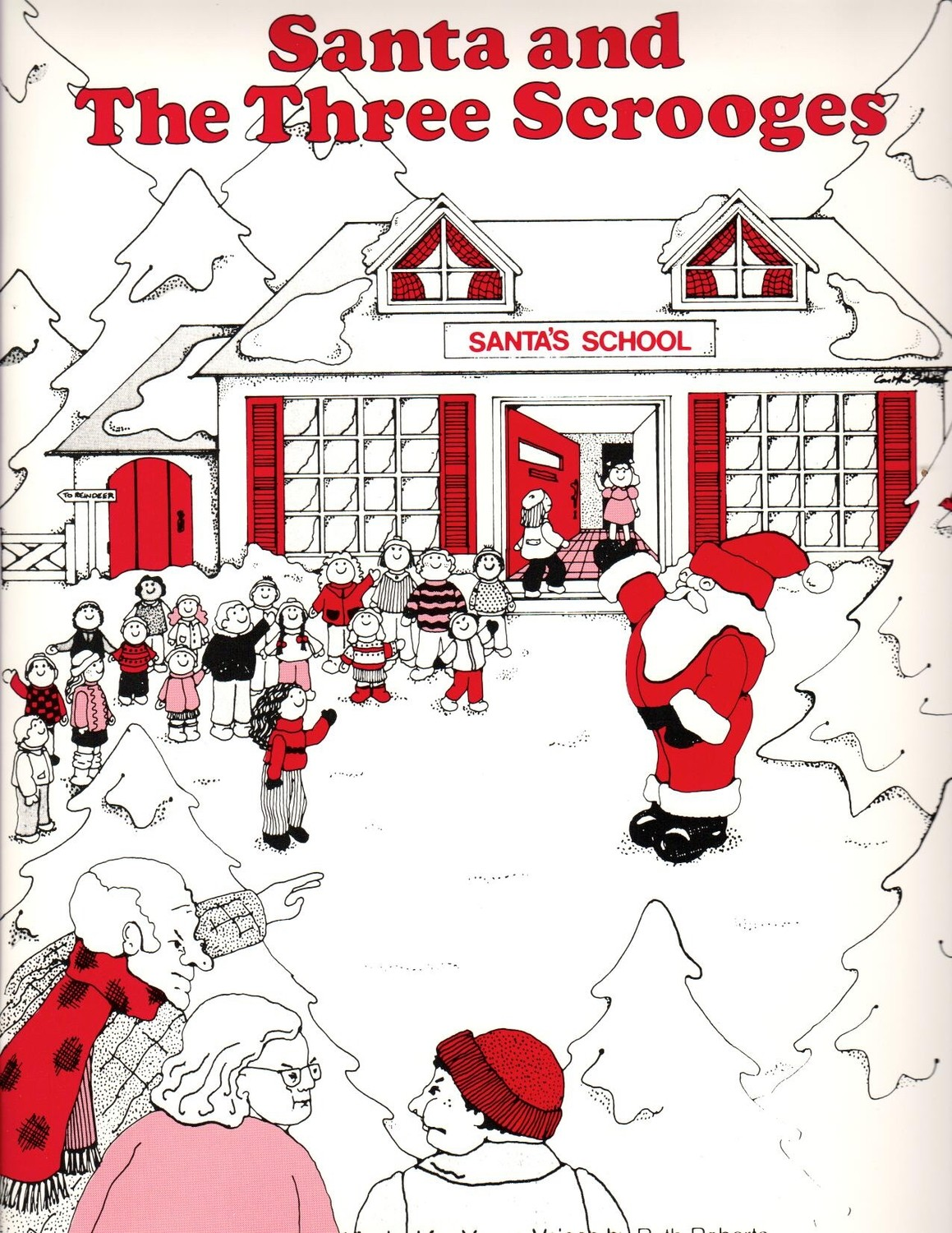 Santa and the Three Scrooges - Student 10/Pack