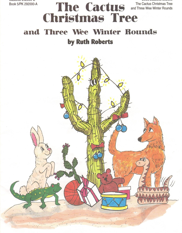 The Cactus Christmas Tree - Book/CD