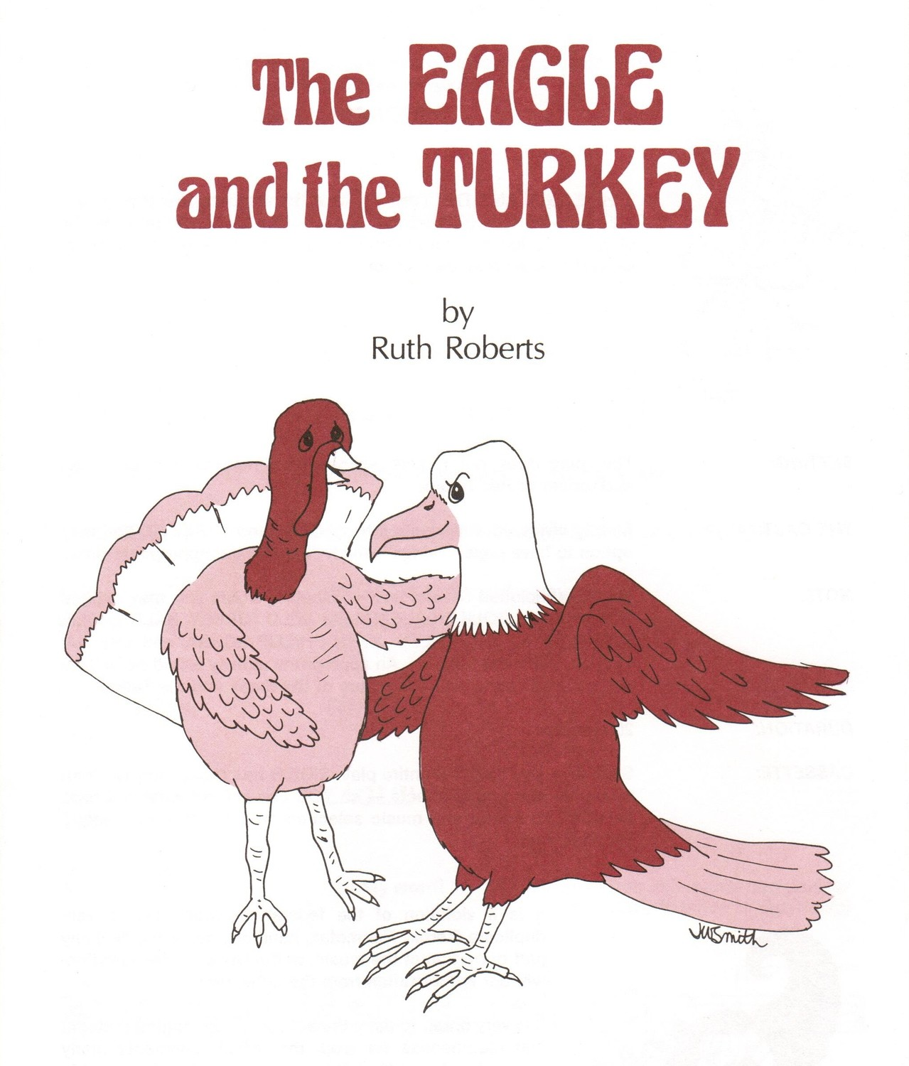 The Eagle and the Turkey - Book/CD