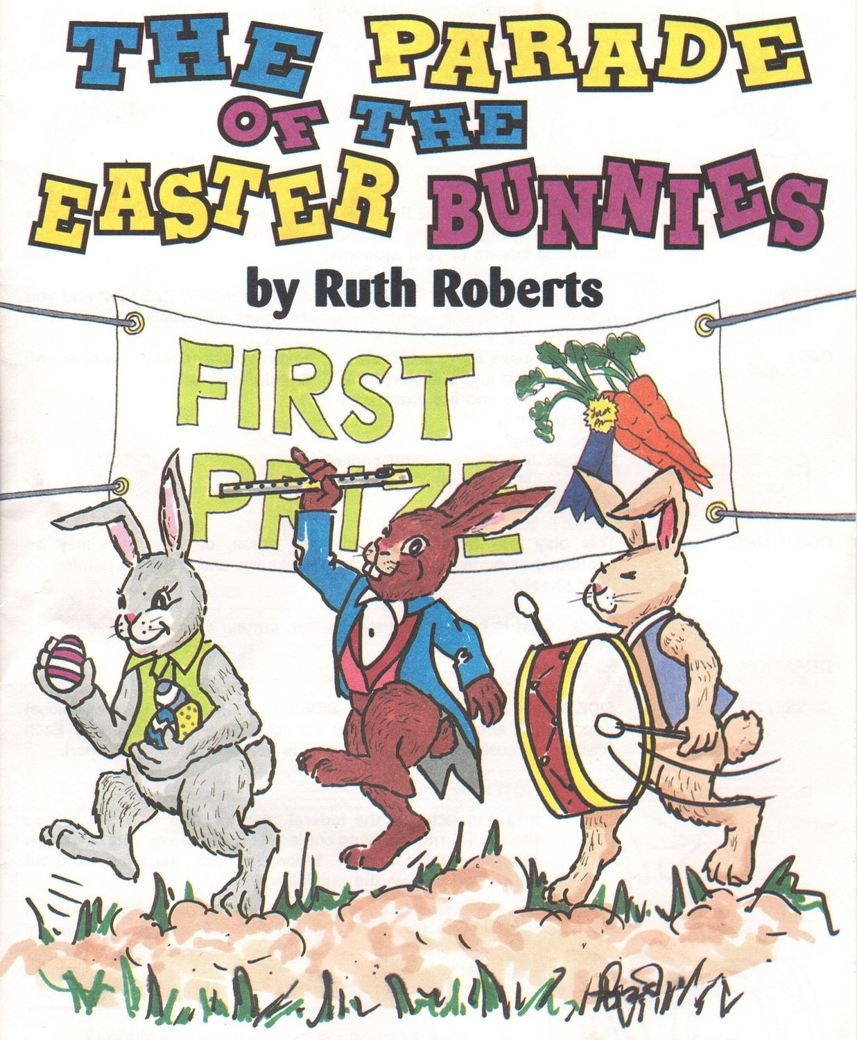 The Parade of the Easter Bunnies - Book/CD