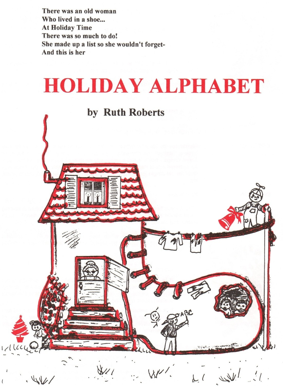 Holiday Alphabet - Book/CD