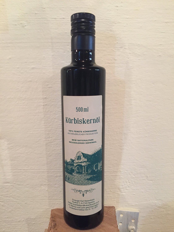 Nord-Burgenländisches Kürbiskernöl 250ml
