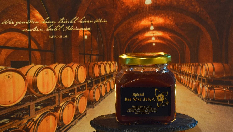 Spiced Red Wine Jelly - verfeinertes Rotweingelee
