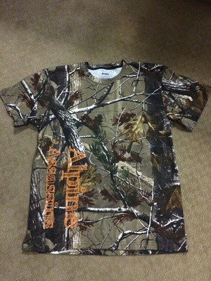 Camo SS T Orange Sketch