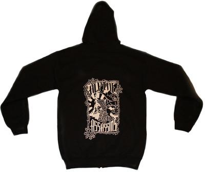 Samurai Zip Up Hoodie