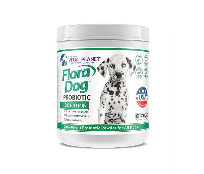 Vital Planet Flora Dog Probiotic
