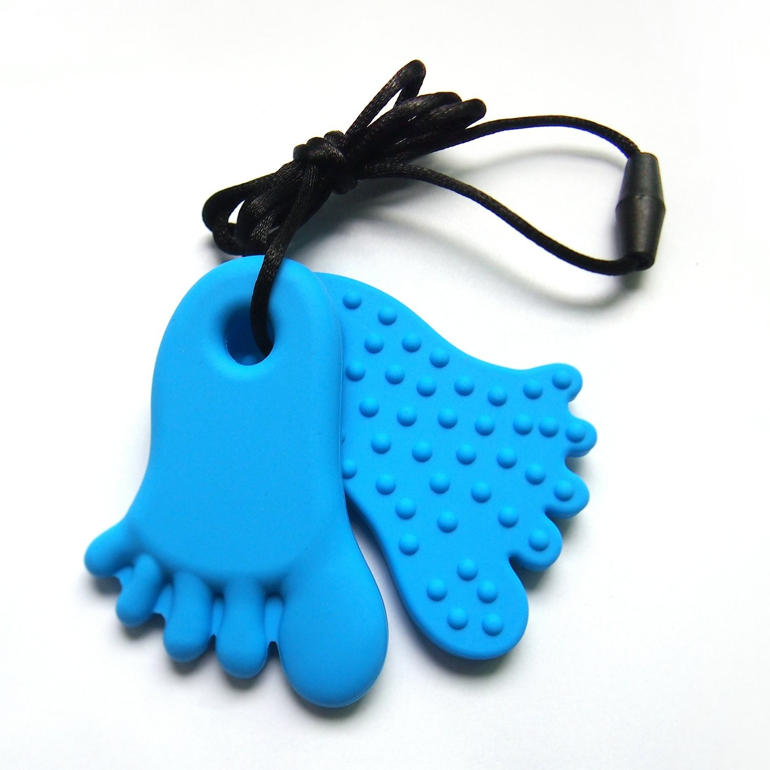 Footprint Pendant Blue