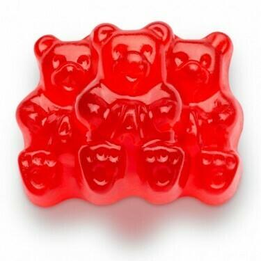 Hemp Infused Cherry Bears