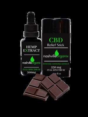 Hemp Extract Complete Care Bundle (3 CBD products)