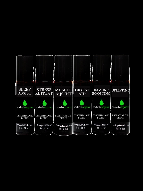 Home Survival Starter Kit    (6 Essential Oil Blends)