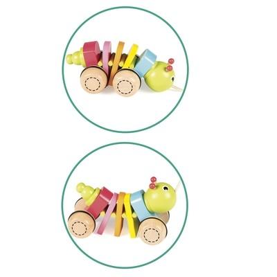 Brinquedo bebé minhoca (53454)