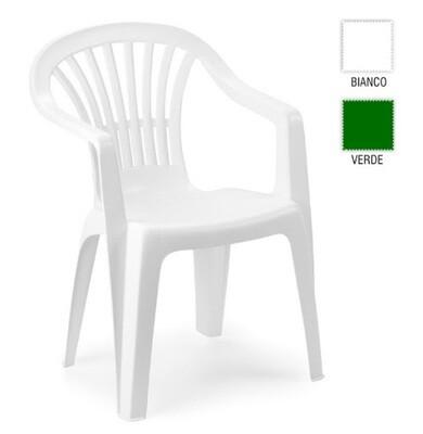 Cadeira Altea na cor Branca ou Cinza