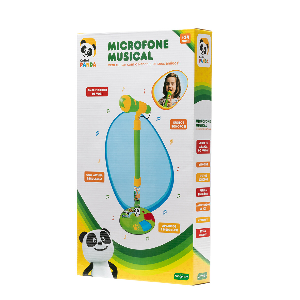 Panda Microfone Grande (118109)