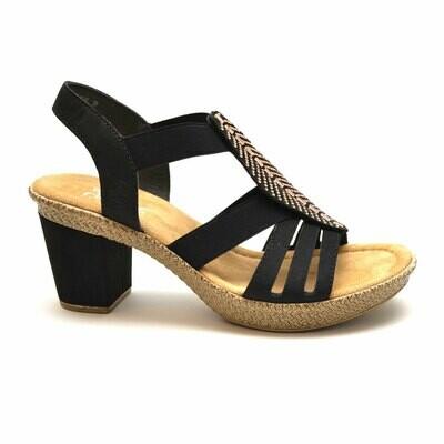RIEKER korollinen sandaali