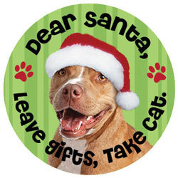 Dear Santa, Take the cat Magnet