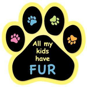 All my kids have fur