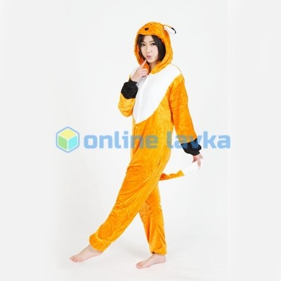 Пижама кигуруми Лиса (размер m)