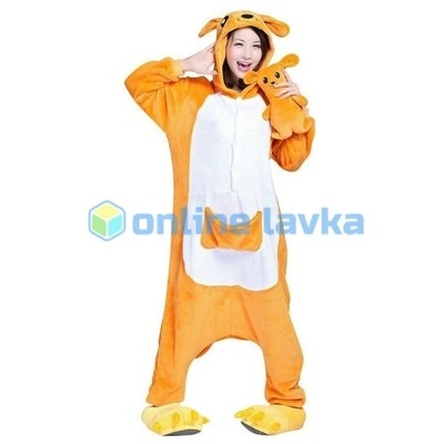 Пижама кигуруми кенгуру (размер xl)
