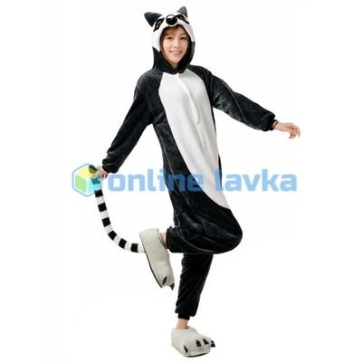 Пижама кигуруми лемур (размер m)