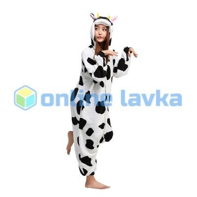 Пижама кигуруми коровка (размер s)