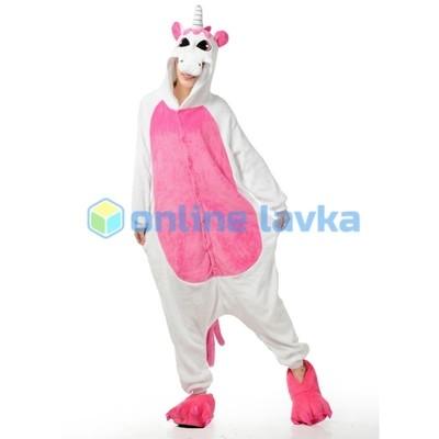 Пижама кигуруми Пегас розовый (размер s)