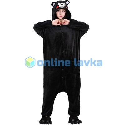 Пижама кигуруми медведь (размер s)