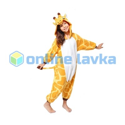 Пижама кигуруми Жираф (рост до 130 см)