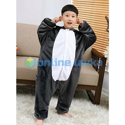 Пижама кигуруми Волк (рост до 130 см)